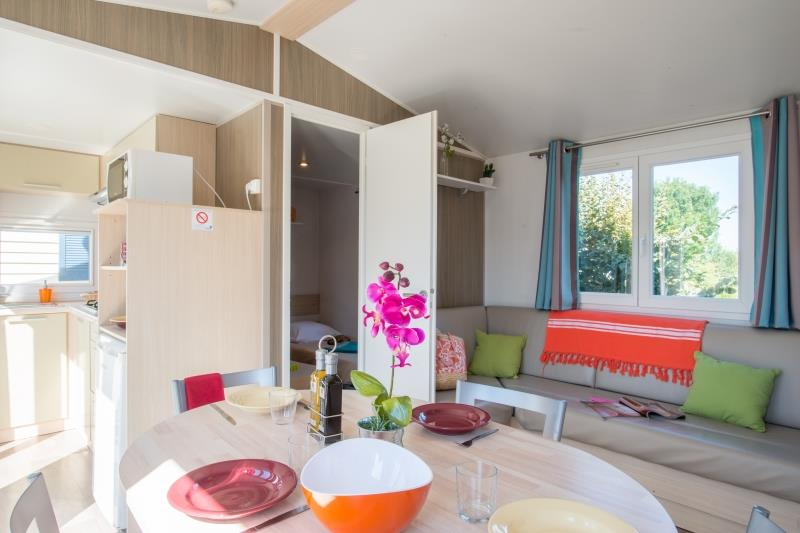Location - Mobilhome Resort Top Presta 31M² - Capfun - Domaine Le Temps Libre