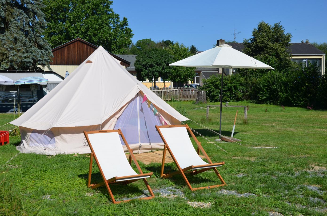 Location - Tipi - Camping Schloss Burgau