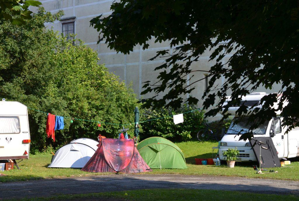 Emplacement - Emplacement Pour Camping-Car, Caravane, Camper Van - Camping Schloss Burgau