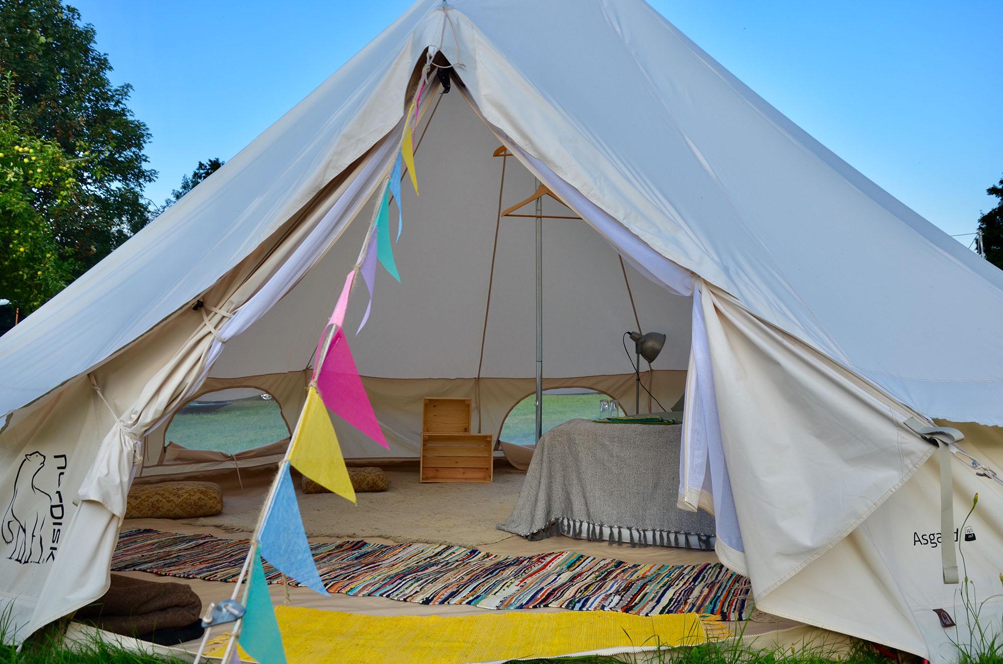 Location - Tepee - Camping Schloss Burgau
