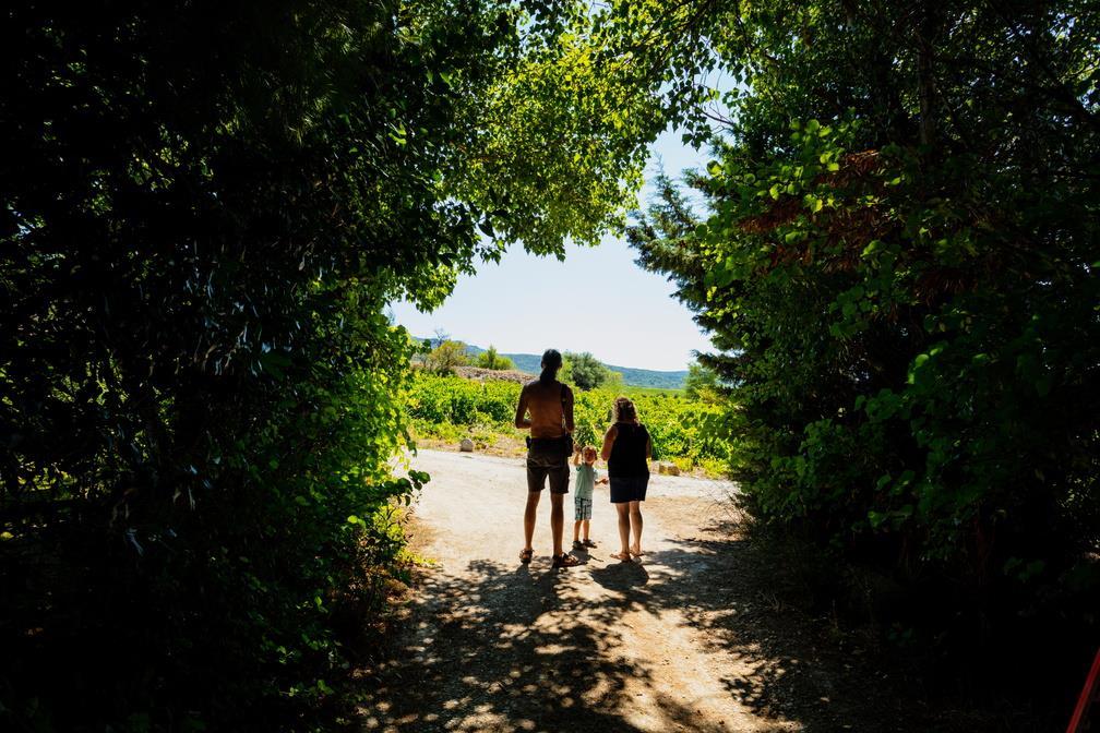 Camping la Peirière, Tuchan, Aude