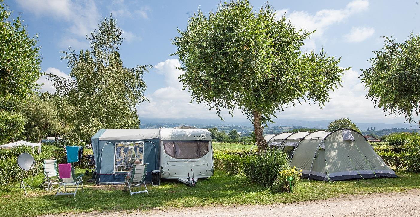 Camping le Coin Tranquille, Les Abrets, Isère