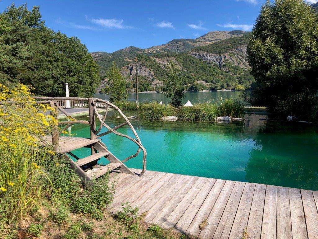 Camping le Lac, Ubaye-Serre-Ponçon, Alpes-de-Haute-Provence
