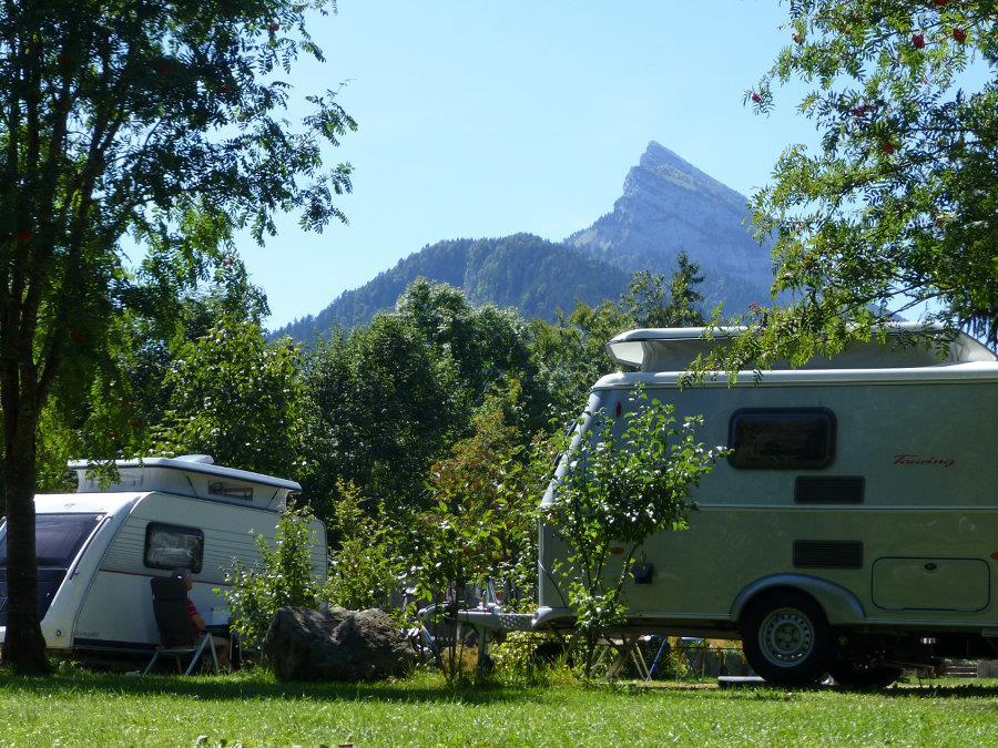 Camping de la Martinière, Saint-Pierre-de-Chartreuse, Isère
