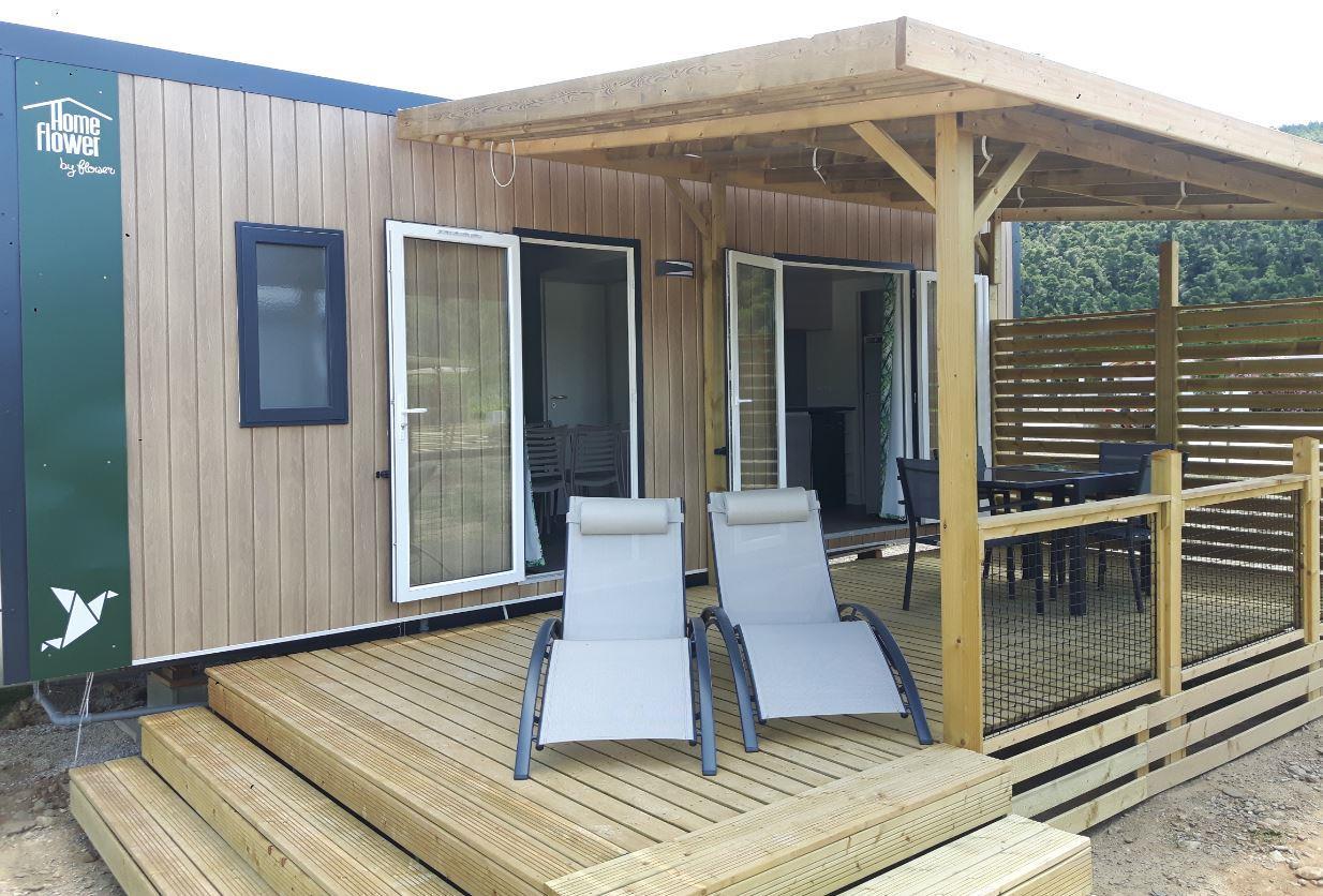 HomeFlower Premium 2 chambres 29m² + climatisation & plancha & TV