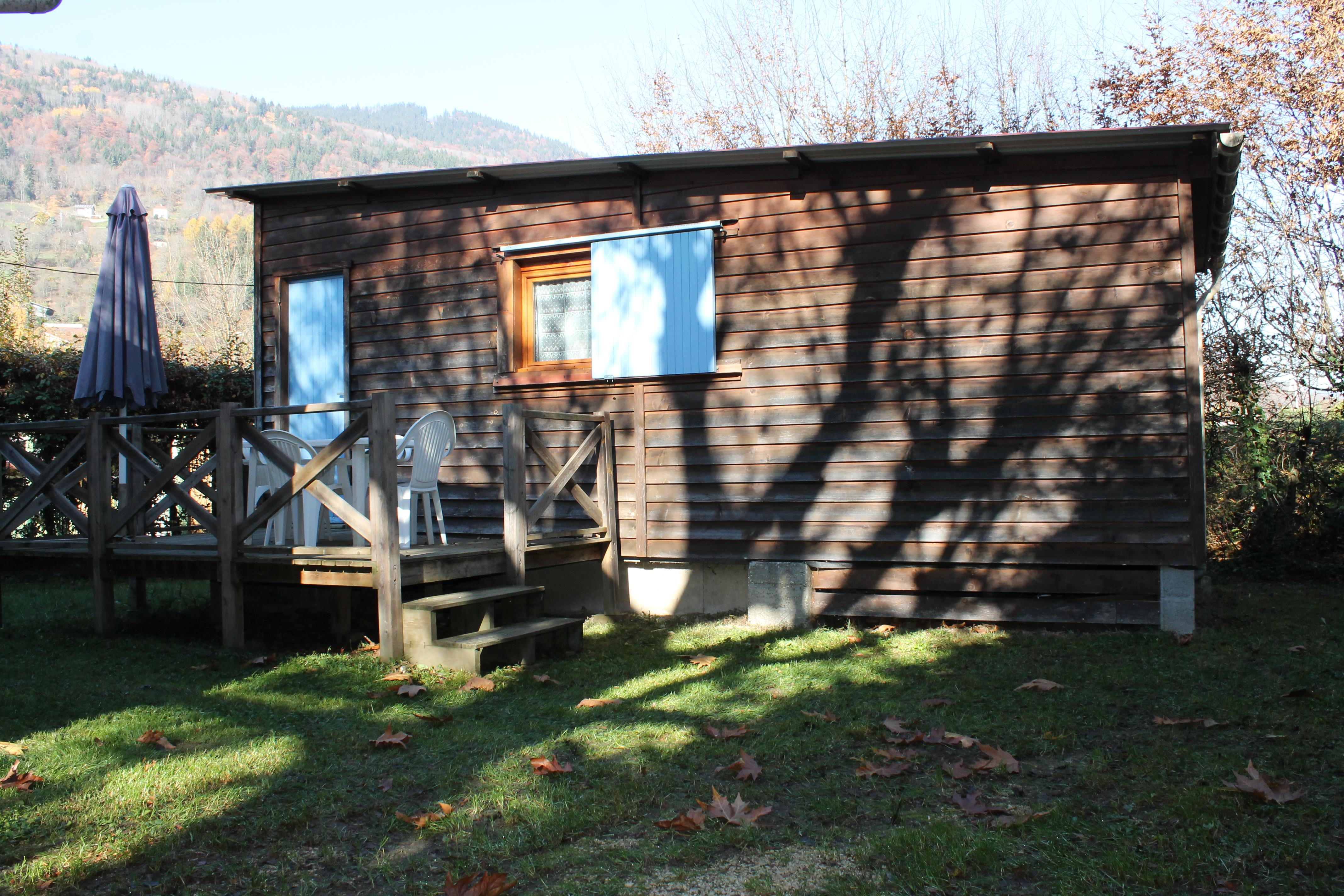 Location - Chalet 24M² - Idéal Camping