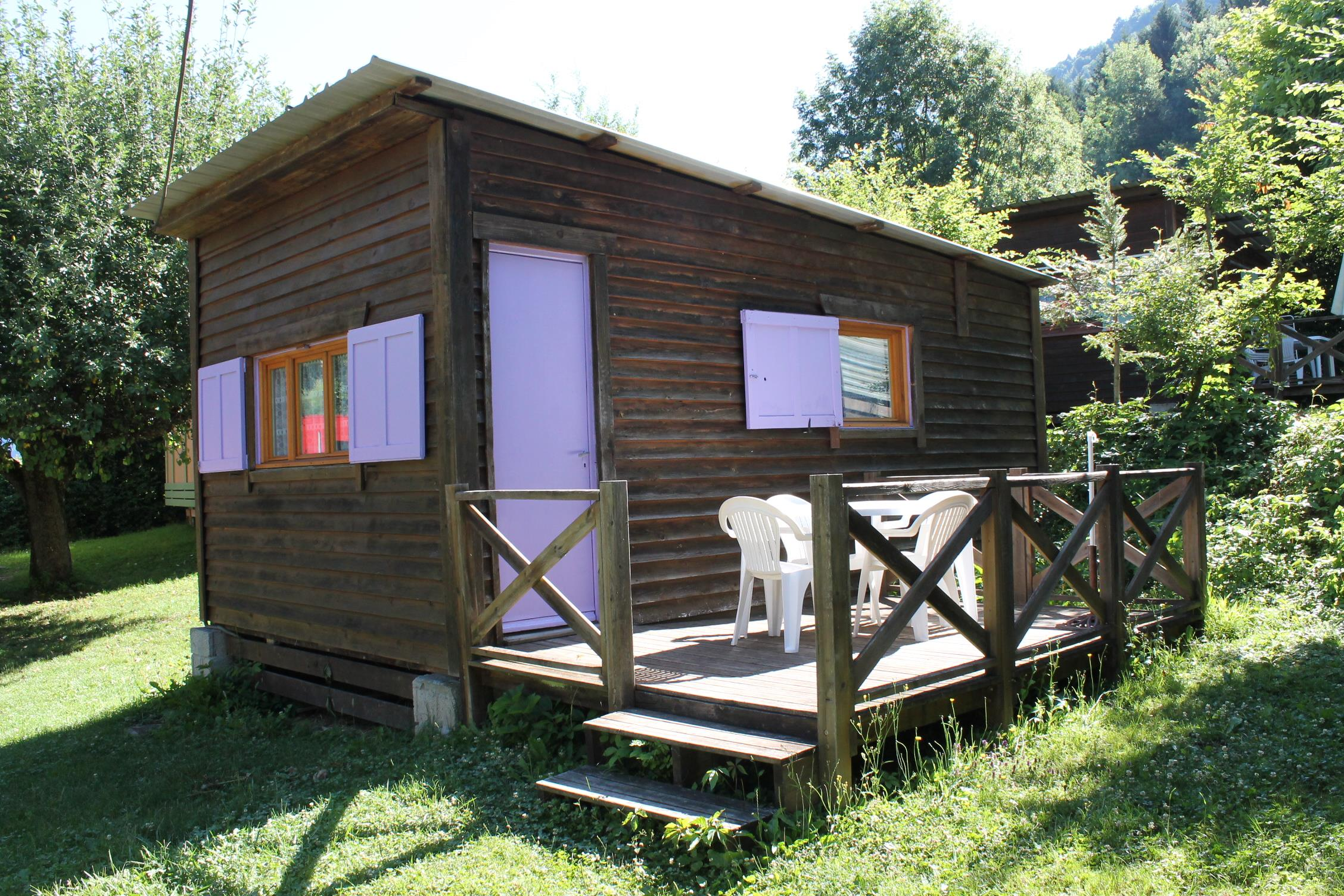 Location - Chalet 21M² - Idéal Camping