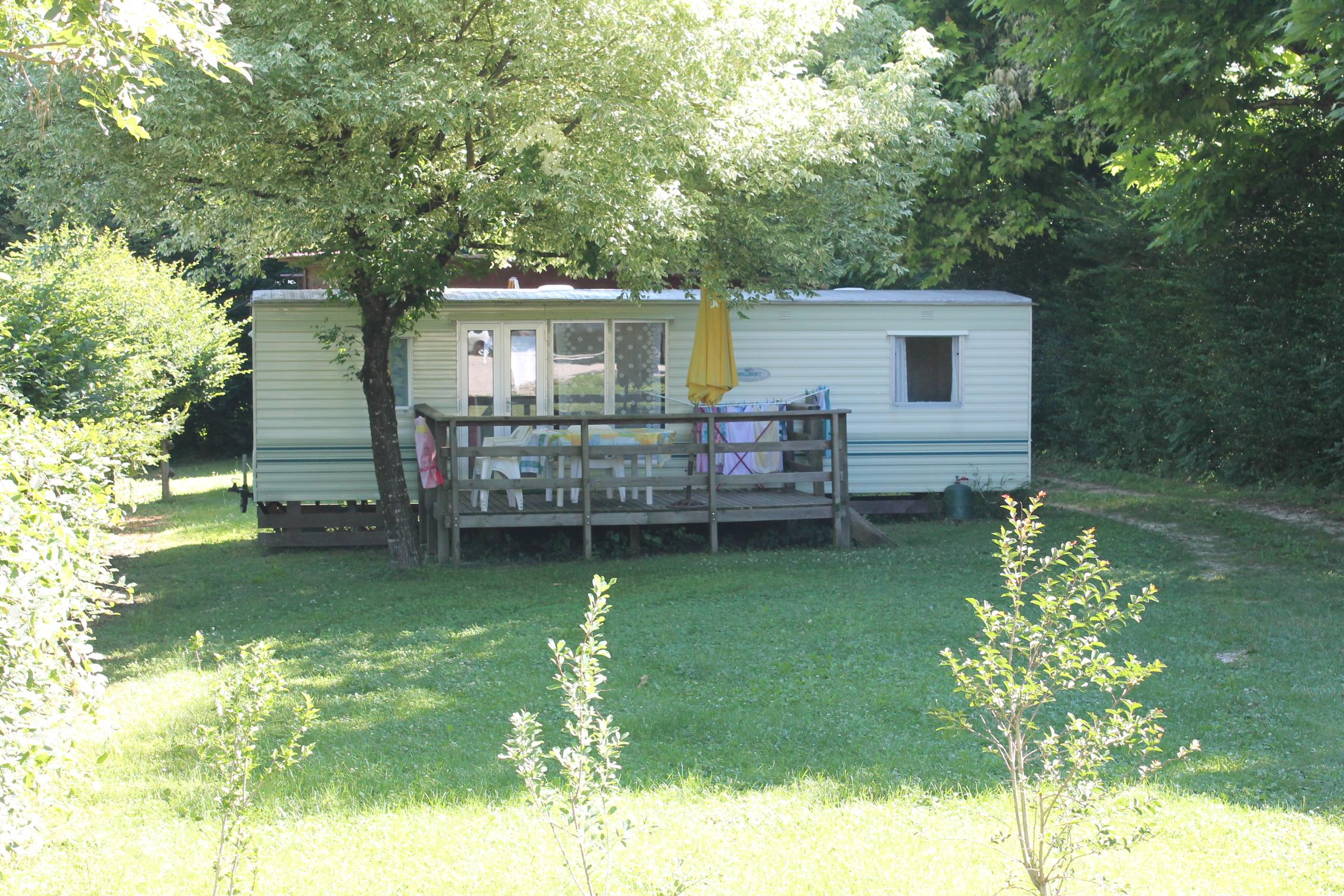 Location - Mobil Home Willerby 24M² - Idéal Camping