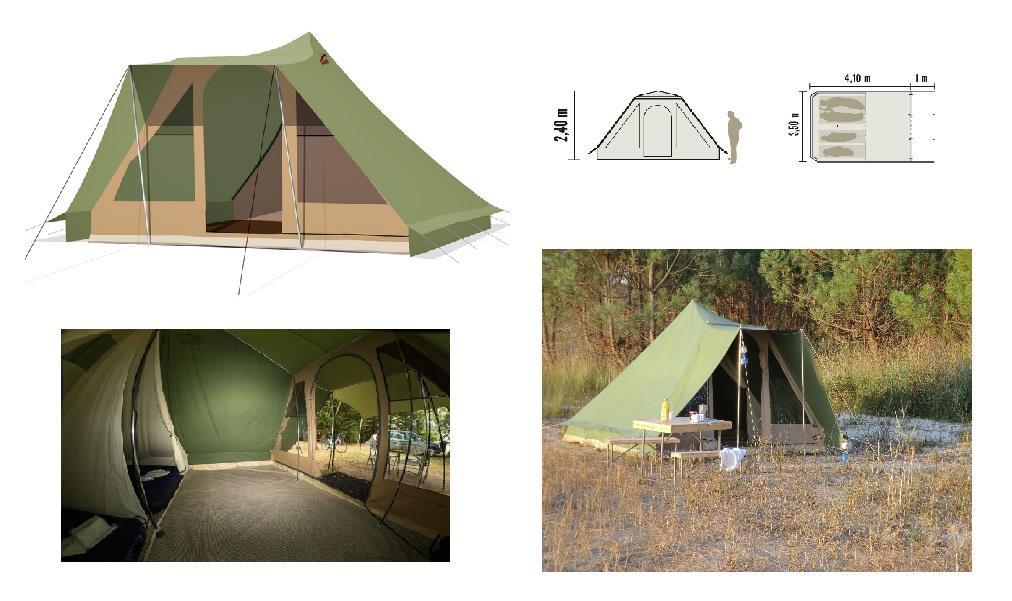 Emplacement - Forfait Prêt À Camper - Wellness Sport Camping UCPA VVF Pène Blanche