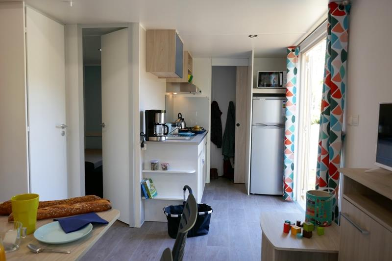 Location - Mobilhome Bois Premium 32M² 2 Chambres - Wellness Sport Camping UCPA VVF Pène Blanche