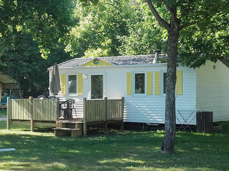 Mietunterkunft - Mobil-Home 2 Chambres 4/5 Personnes - Camping Les Eydoches