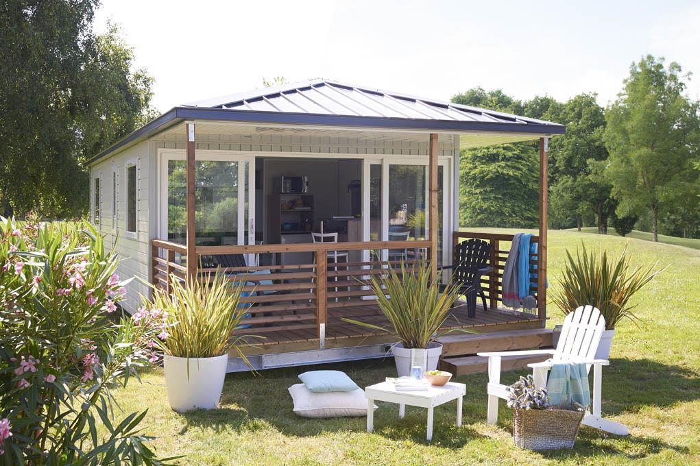 Location - Mobil-Home Méditerranée Eden 27M² - Camping Les Capucines