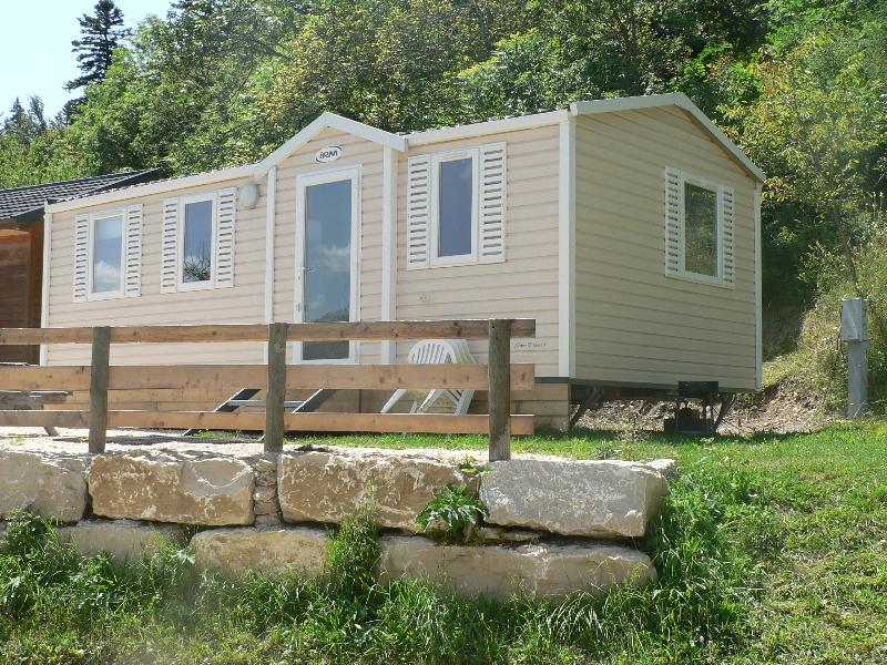 Accommodation - Mobil-Home 3 Bedrooms 2011 - Camping Les Eymes