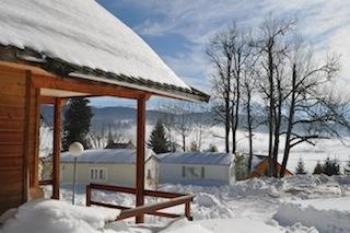 Location - Chalet Bois Grand Cerf - Camping Les Eymes