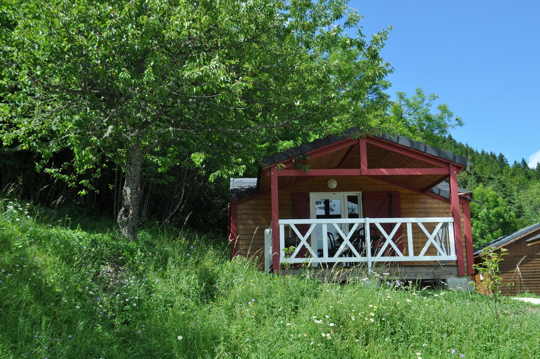 Location - Chalet Bois Aigle Royal - Camping Les Eymes