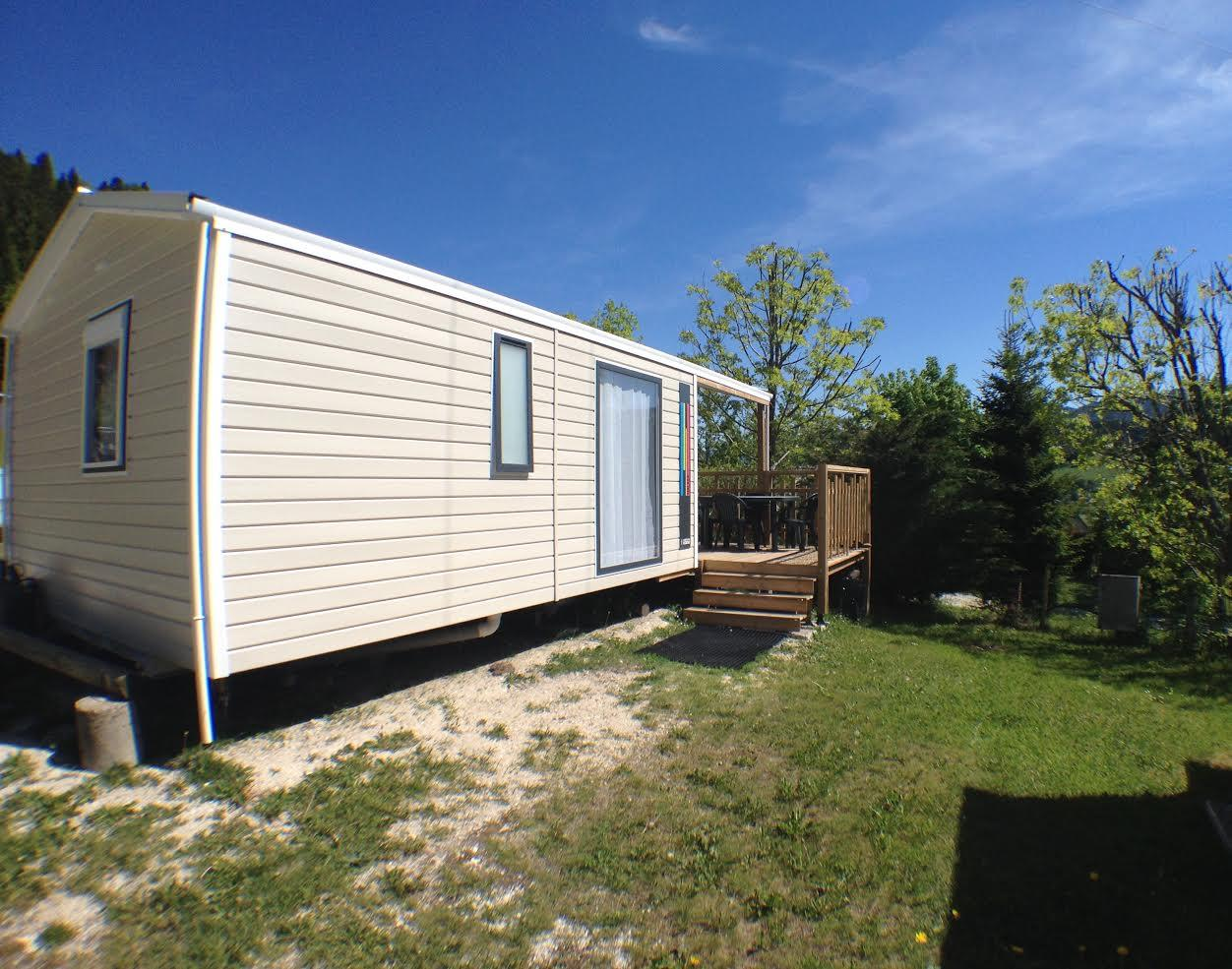 Location - Cottage Epicéa - Camping Les Eymes