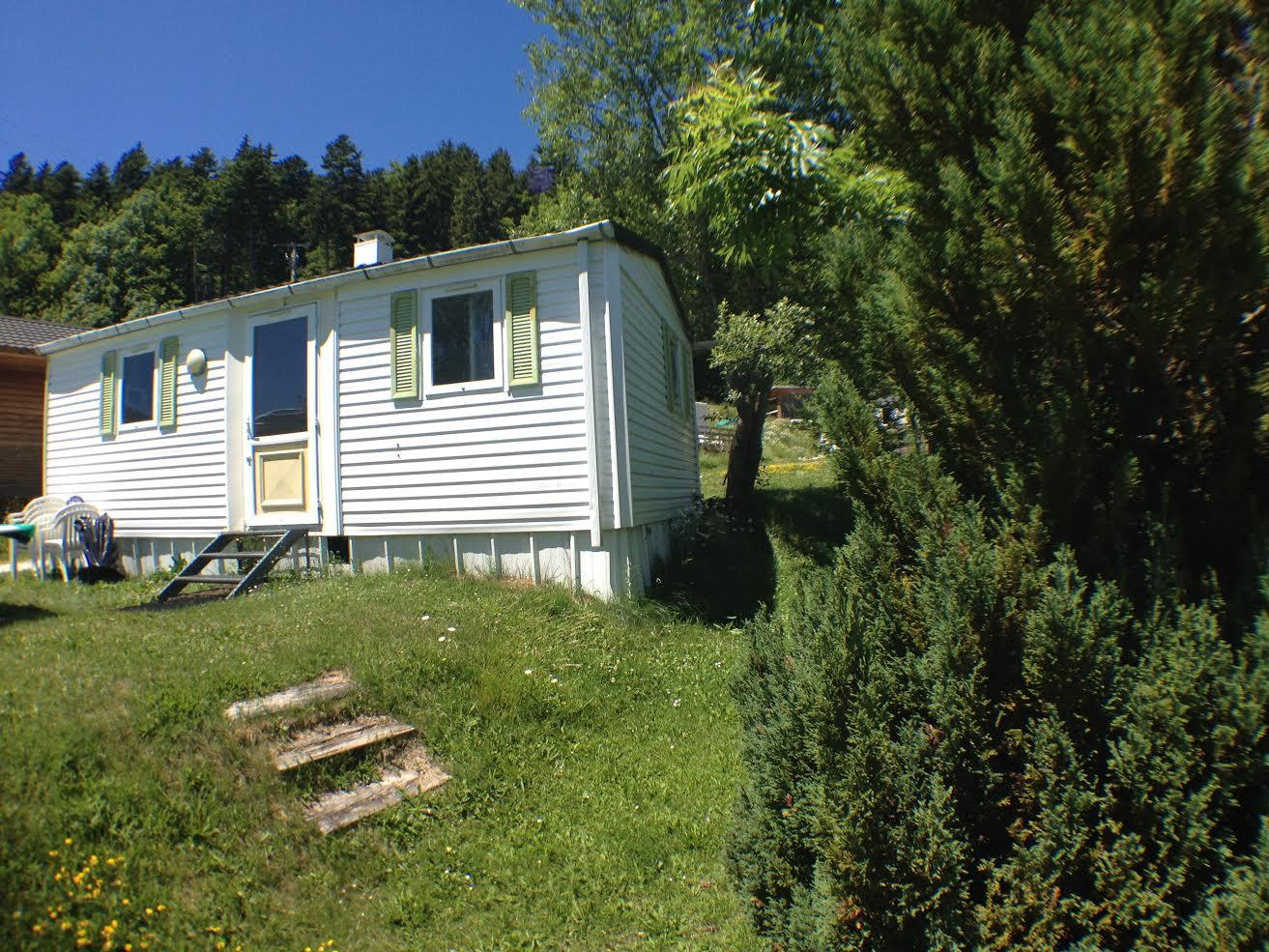 Location - Mobil-Home Edelweiss - Camping Les Eymes