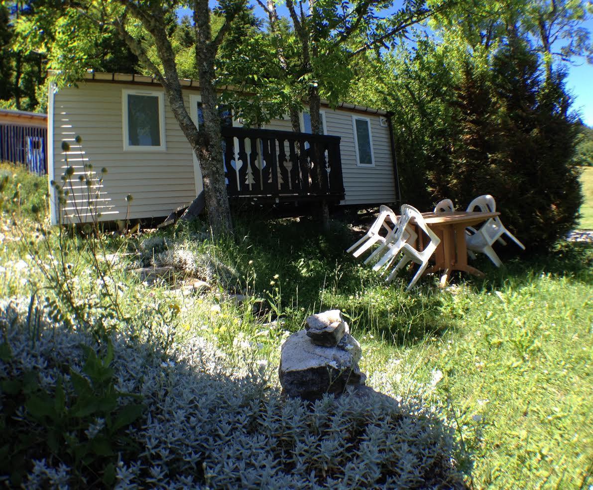 Location - Mobil-Home O'hara - Camping Les Eymes