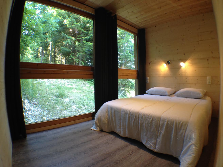 Location - Chalet La Cabane - Camping Les Eymes