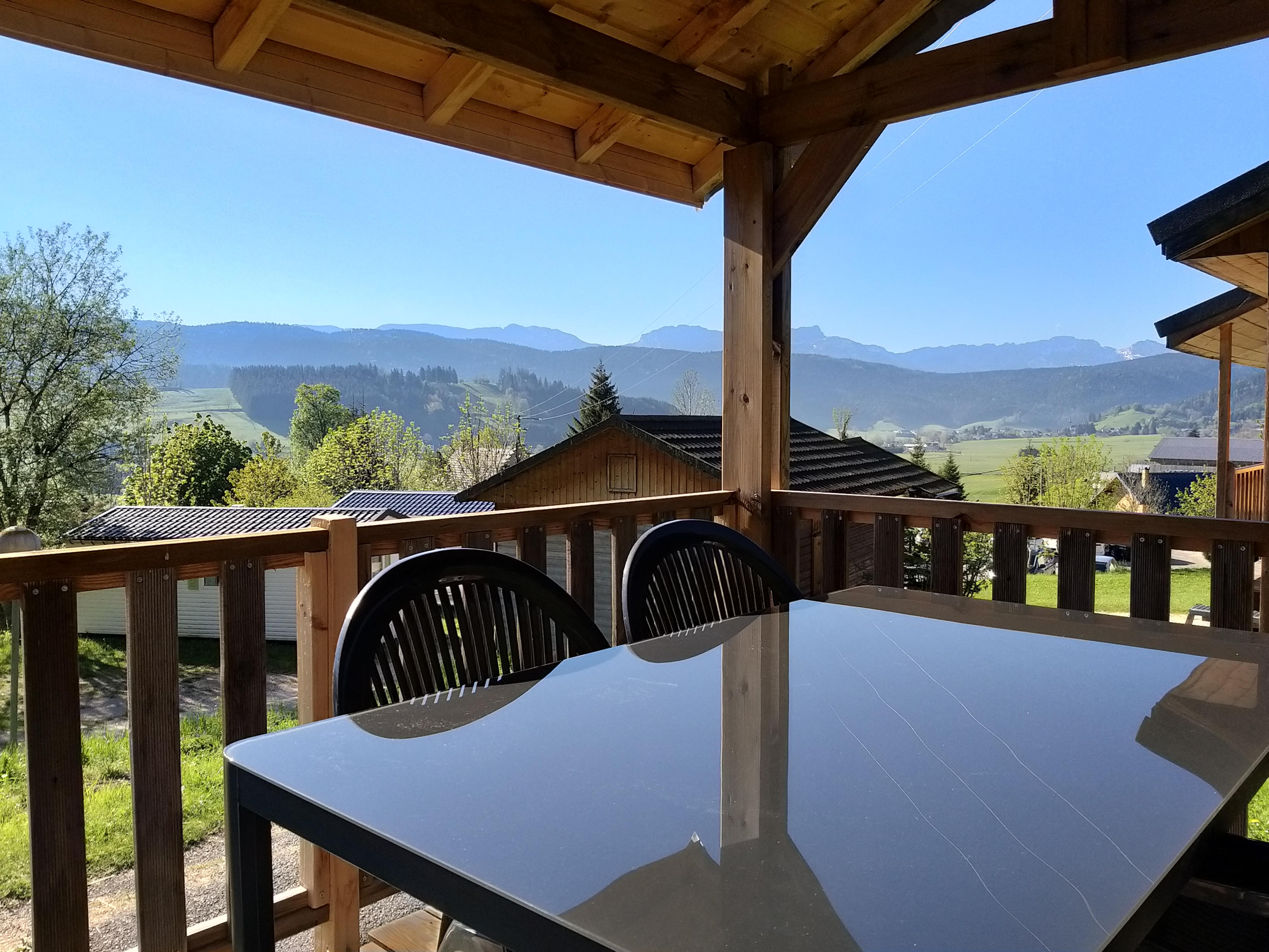 Location - Chalet Bois Marmotton - Camping Les Eymes