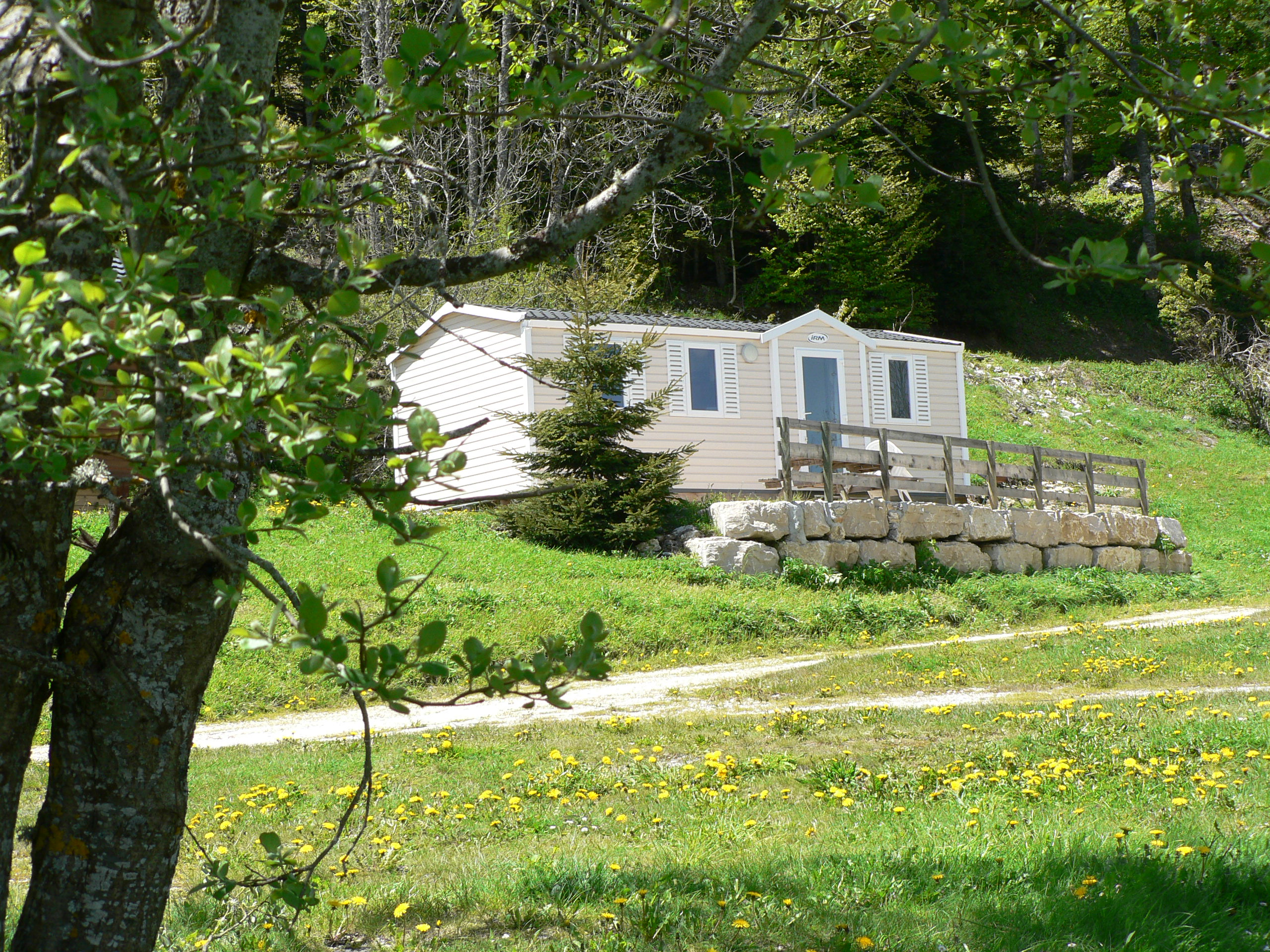 Location - Cottage Titania 3 Chambres N°14 - Camping Les Eymes