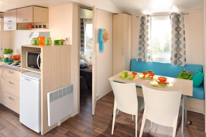 Accommodation - Mobil-Home Confort 2 Chambres (+Lit D'appoint) 27.5M2 - Camping la Bissera