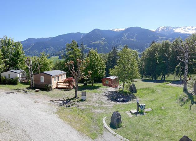 Camping les 7 Laux, Theys, Isère