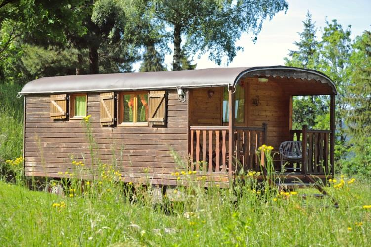 Accommodation - Roulotte De Belledonne - Camping Les 7 Laux