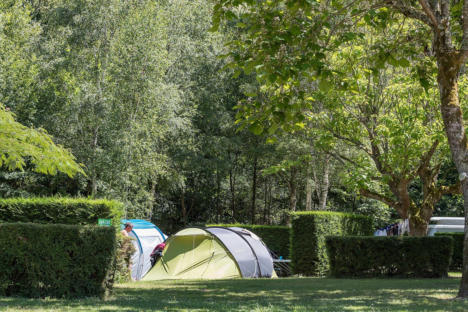 Camping le Bontemps, Vernioz, Isère