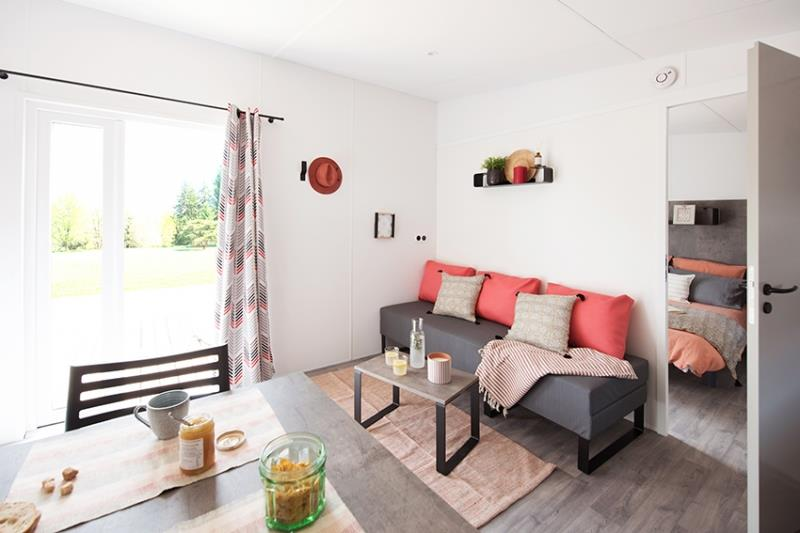 Location - Mobil Home Raoul 33M² - Capfun - Camping Caravaneige L'Oursière