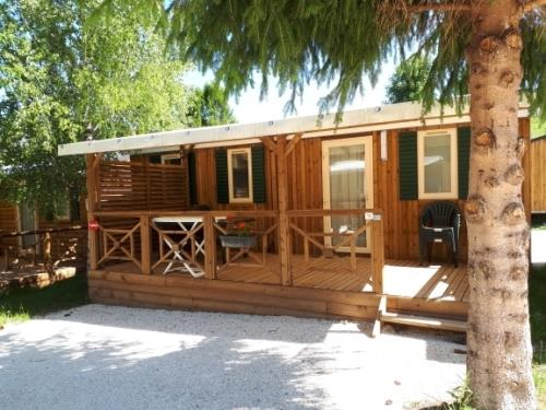 Location - Mobile Home Resort Top Tv 31M² - Capfun - Camping Caravaneige L'Oursière