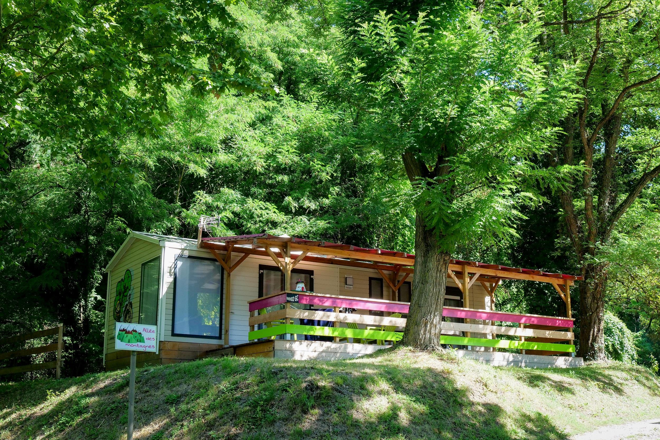 Accommodation - Big Comfort (2 Bedrooms, 40 M²) - Air-Conditioned - Camping Le Bois de Cornage