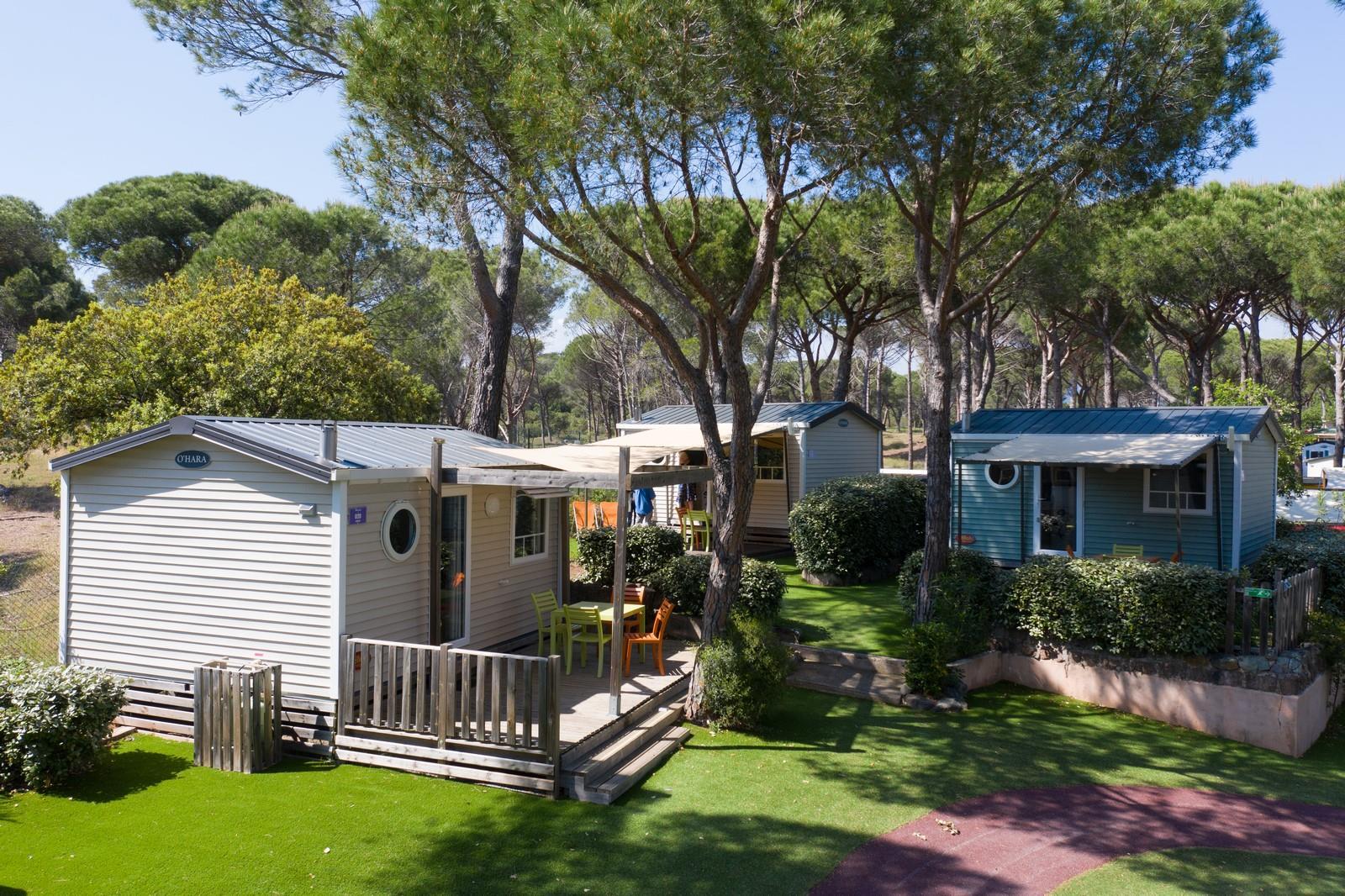 Location - Cottage Hawai *** - 1 Chambre / Climatisé / Tv - Yelloh! Village la Bastiane