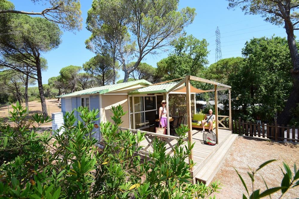 Location - Chalet Cayo Coco **** - 1 Chambre / Tv / Climatisé - Yelloh! Village la Bastiane