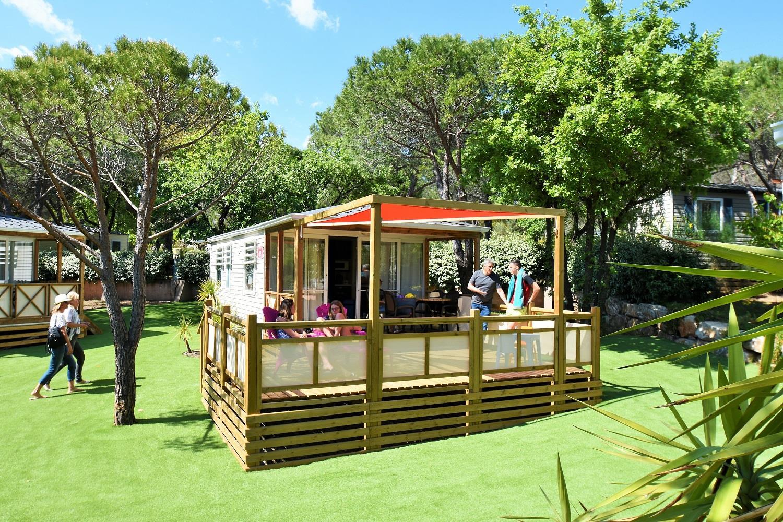 Location - Cottage Funny *** - 2 Chambres / Climatisé / Tv - Yelloh! Village la Bastiane