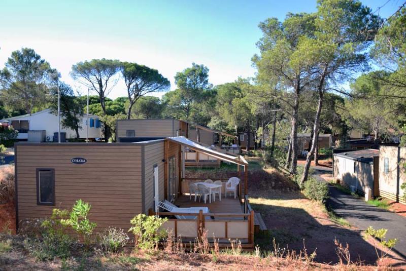 Location - Missouri 4 Pers. + 1 Bébé + 1 Place Véhicule Premium - Camping Les Cigales