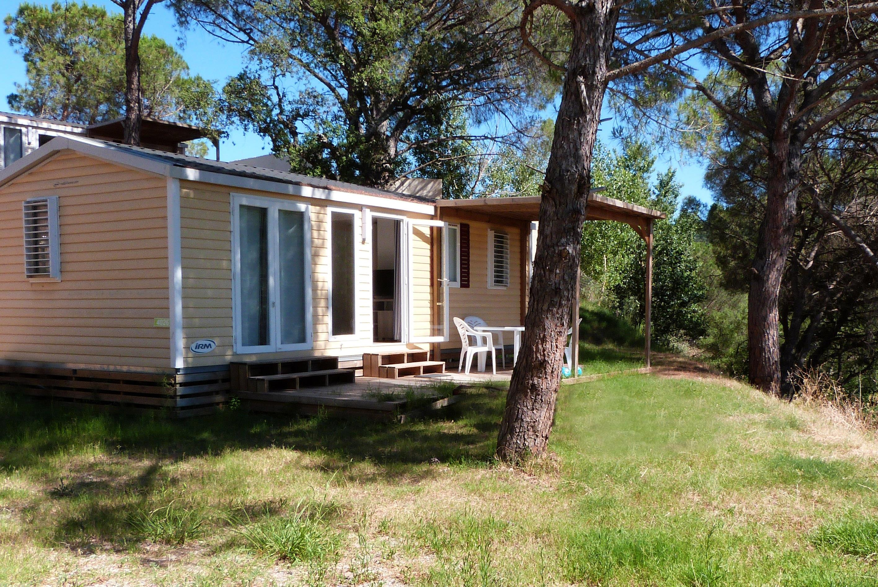 Location - Arizona 6 Pers. + 1 Place Véhicule. Eco - Camping Les Cigales