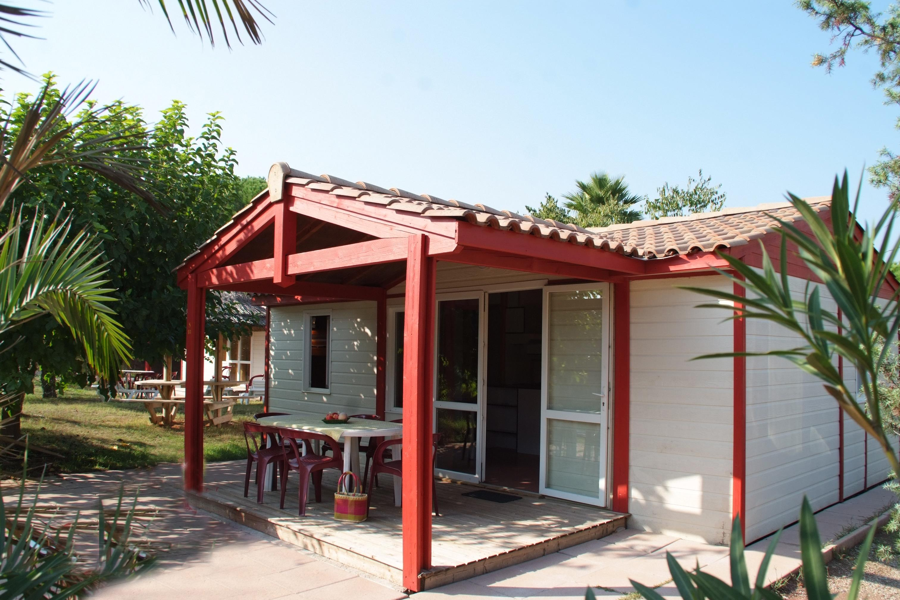 Location - Chalet Tonina 8 Pers. + 2 Places Véhicules Confort - Camping Les Cigales