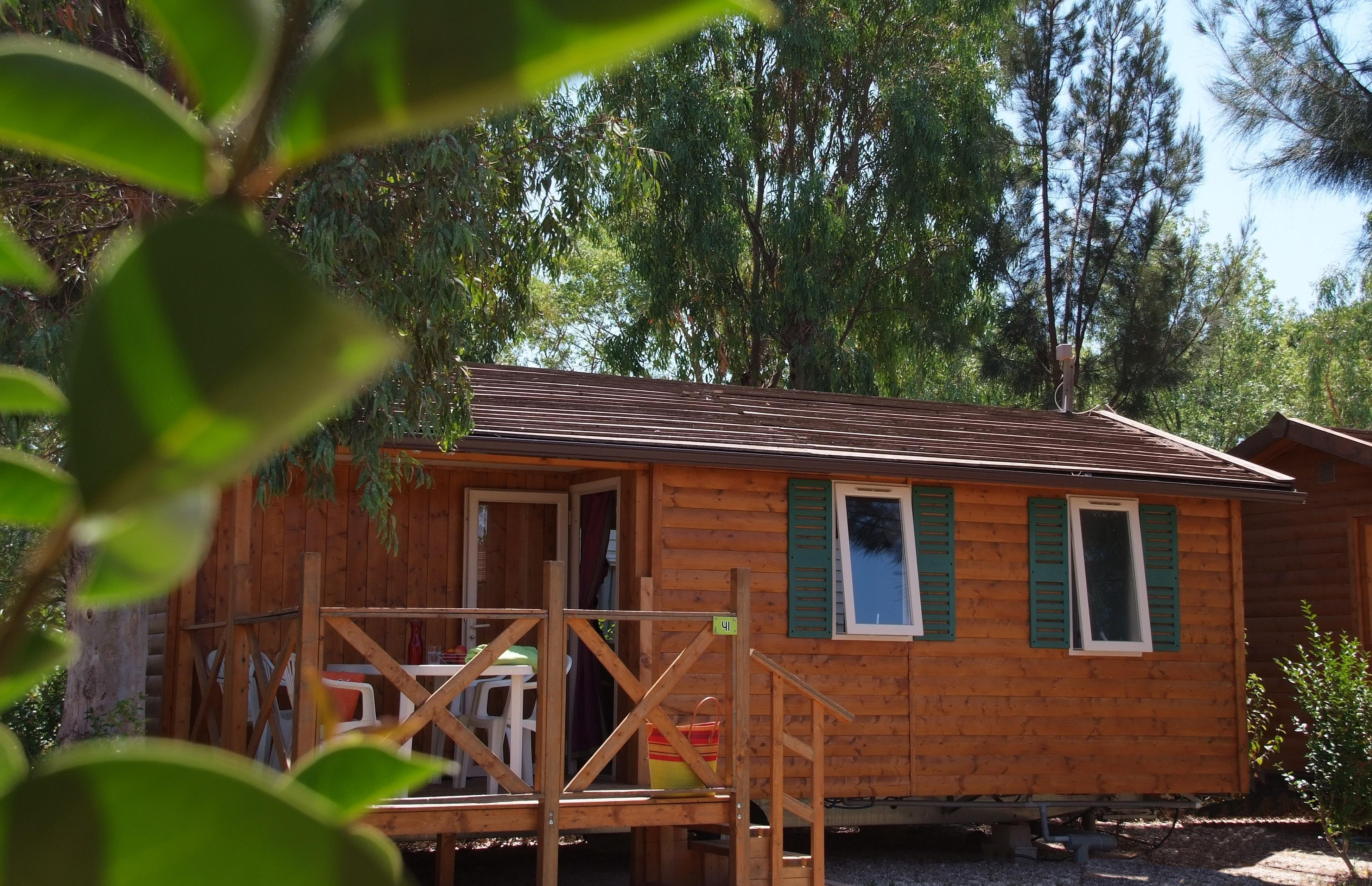 Location - Georgia 4 Pers. + 1 Place Véhicule. Confort - Camping Les Cigales