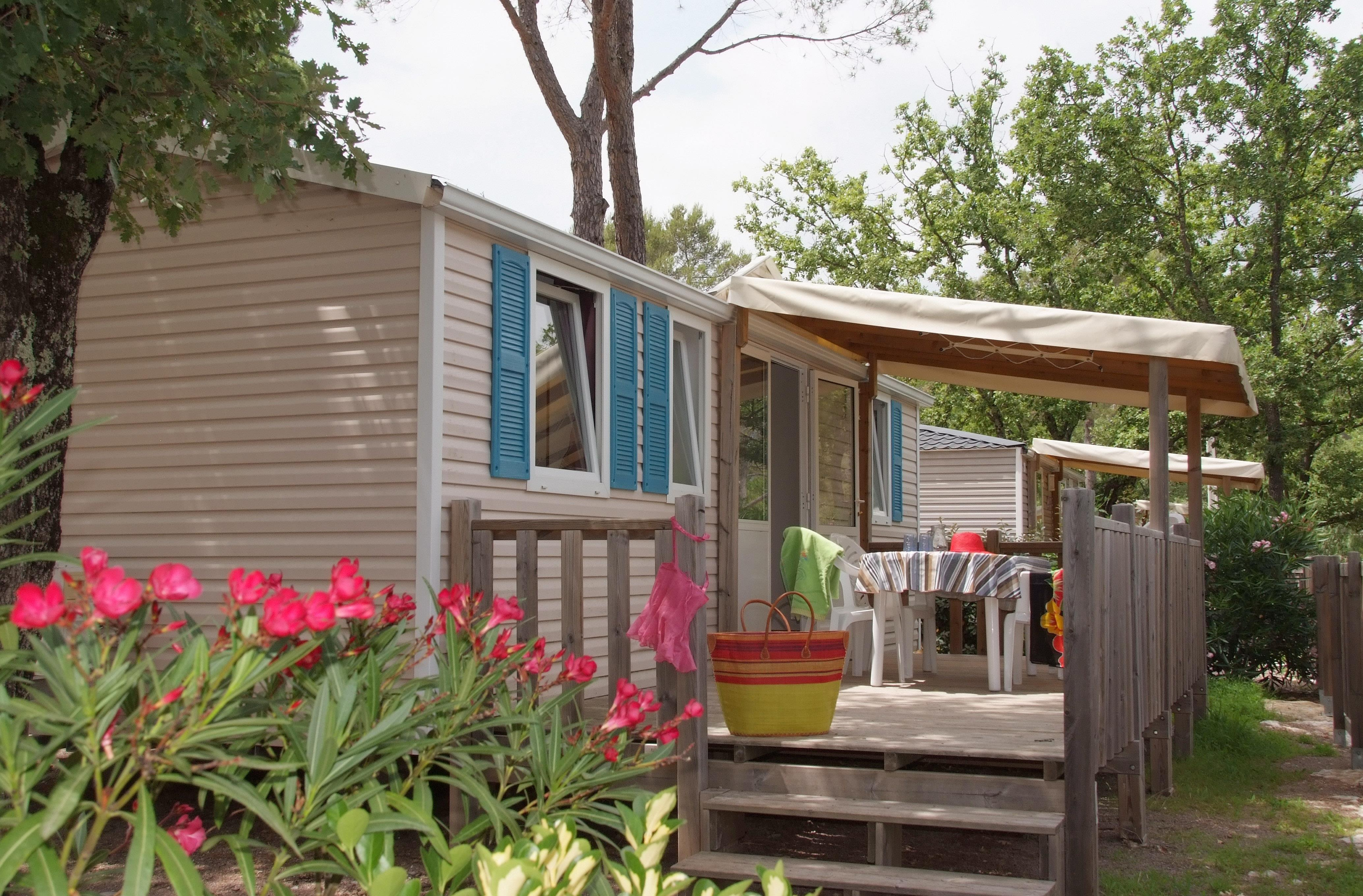 Location - Texas 8 Pers. + 1 Place Véhicule. Eco - Camping Les Cigales