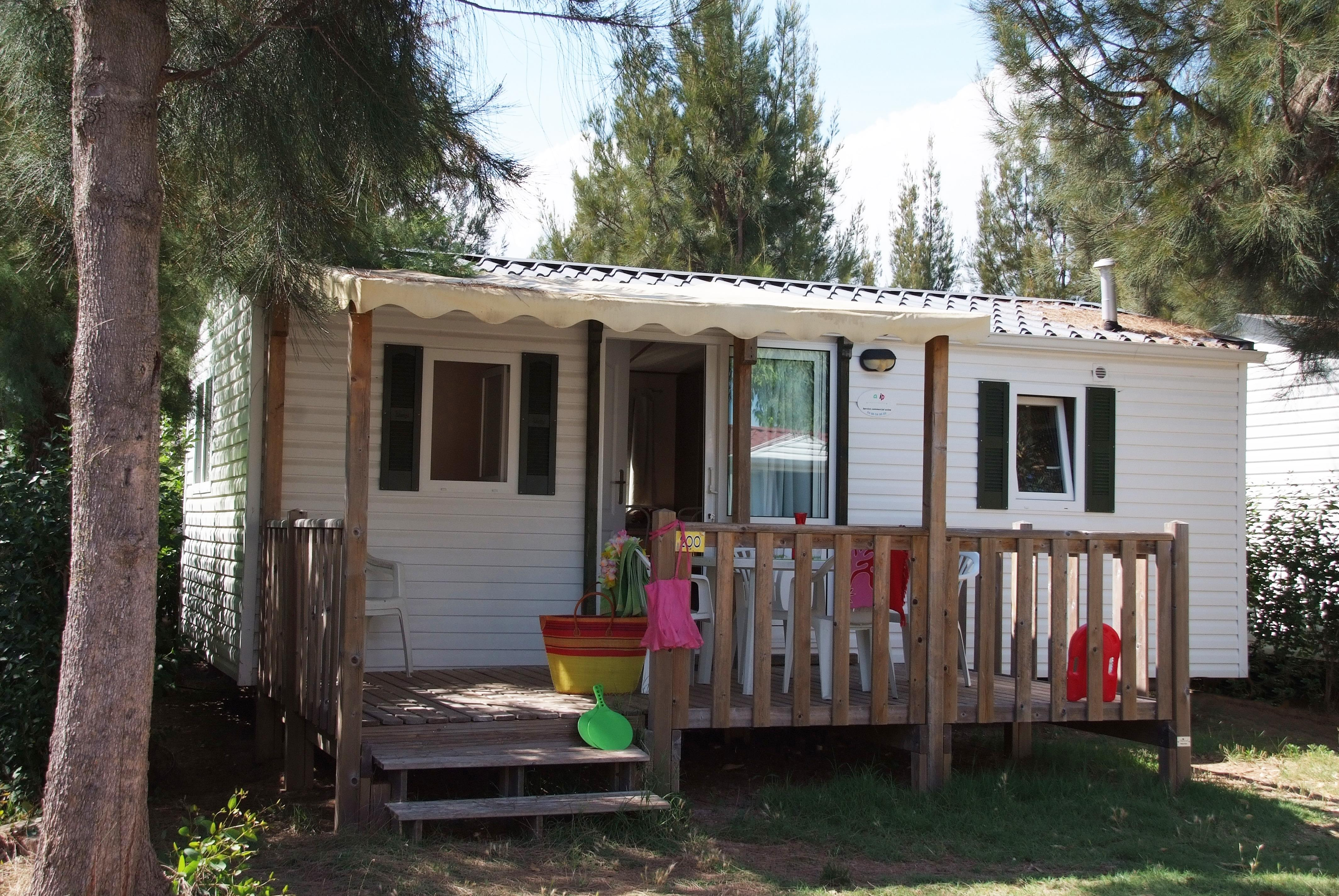 Location - Colorado 6 Pers. + 1 Place Véhicule. Eco - Camping Les Cigales