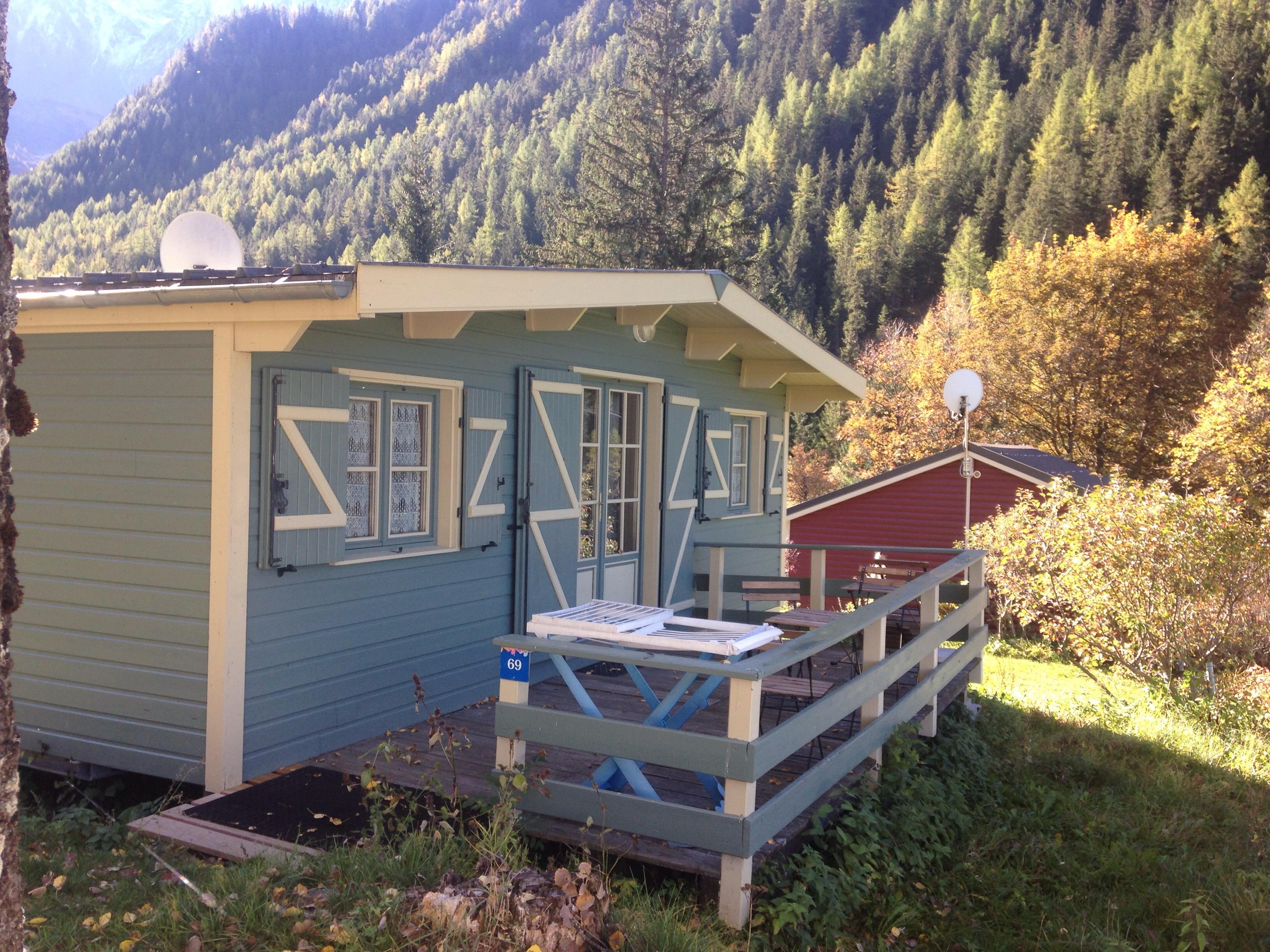 Accommodation - Chalet Beaufortain 29M² 2 Bedrooms + Terrace 12M² - Camping Les Lanchettes