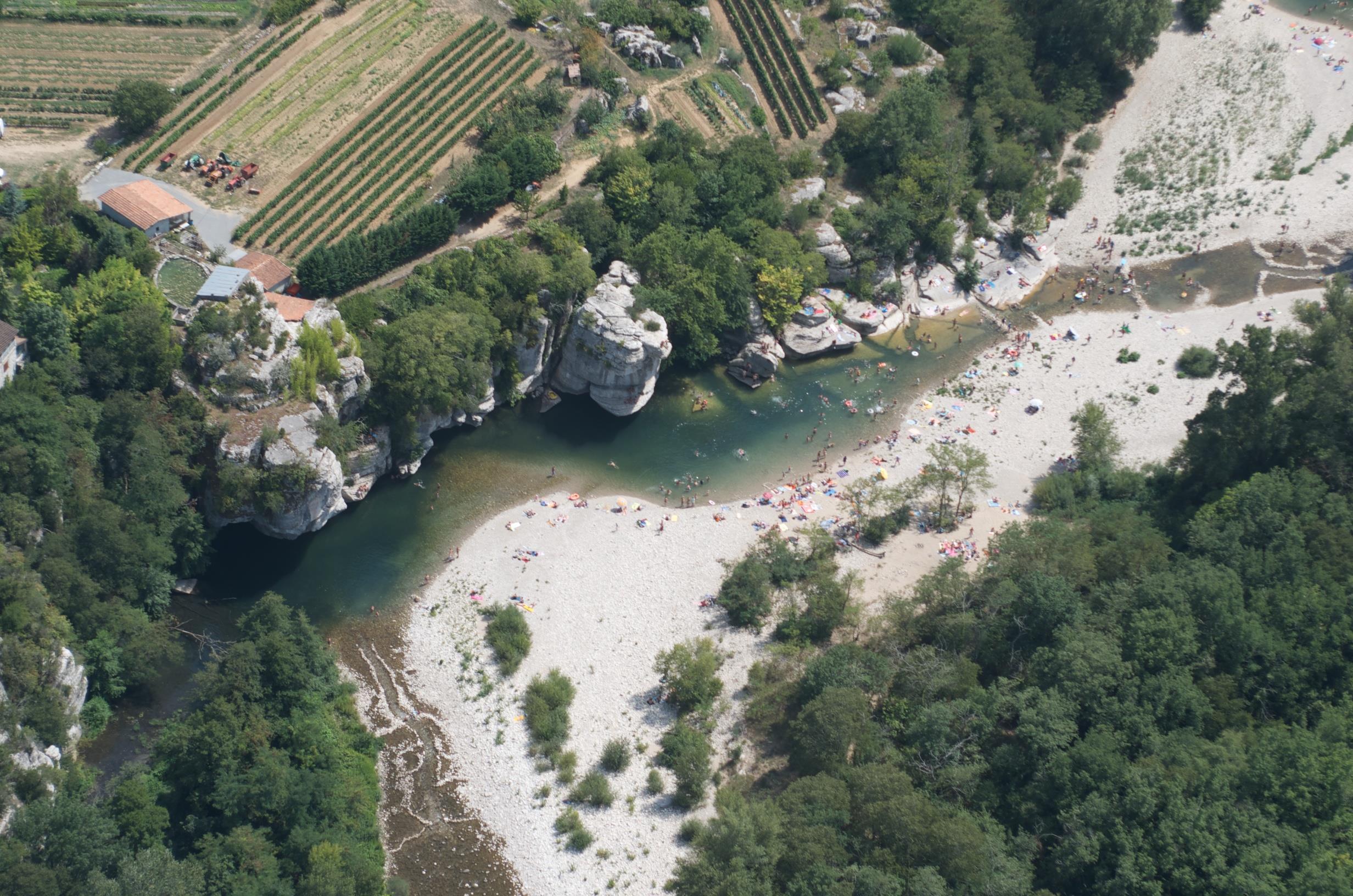 Camping le Peyroche, Ruoms, Ardèche