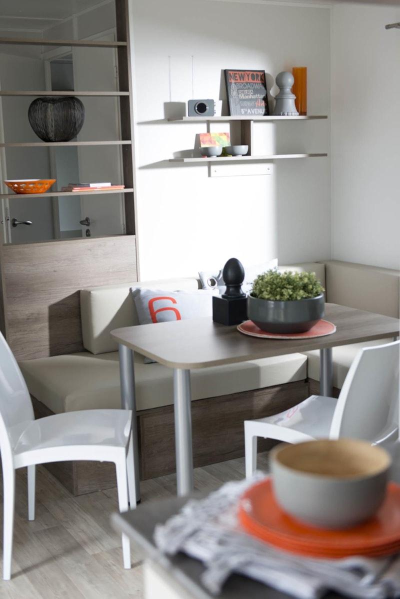 Mobil-Home Privilège ARGENT 35m² 3ch. - 6pers. - CLIM – LV (5/9)