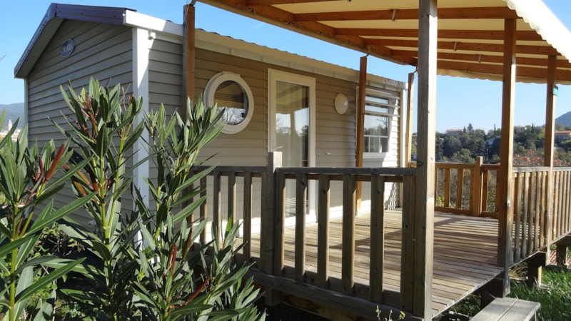 Mobil-Home Grand Confort VIOLET 20m² 1ch. – 2/3pers. (2/9)