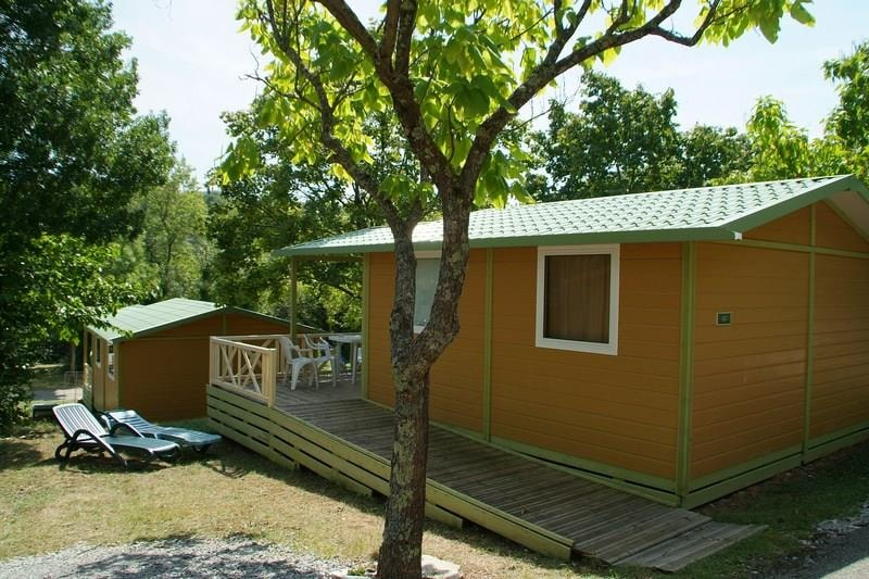 Chalet Access PMR 25m² 2ch. – 4pers. - Ardèche Camping