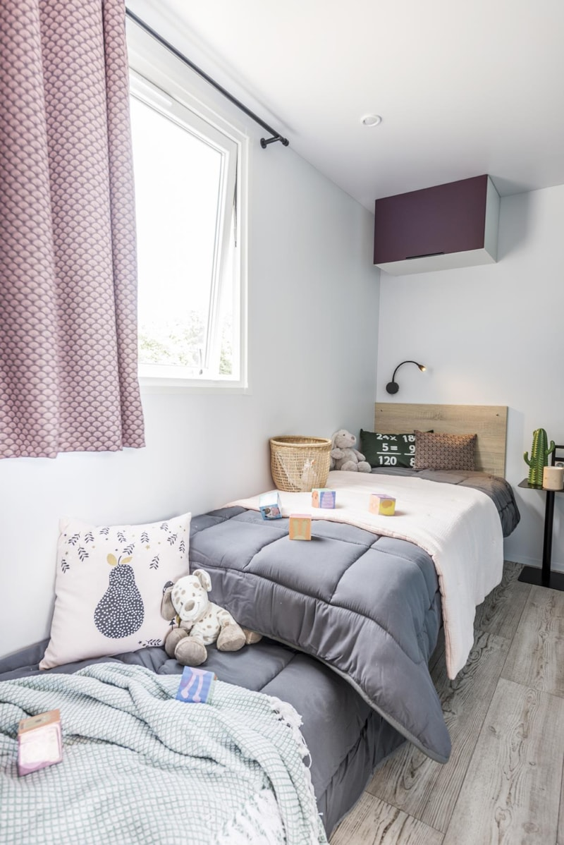 Mobil-Home Privilège OR 34m² 3ch. - 6pers. - CLIM (7/11)