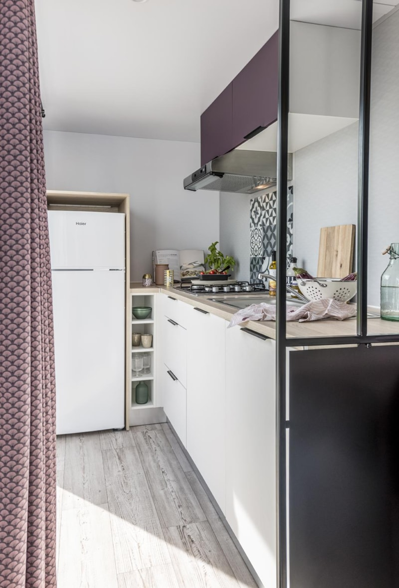 Mobil-Home Privilège OR 34m² 3ch. - 6pers. - CLIM (3/11)