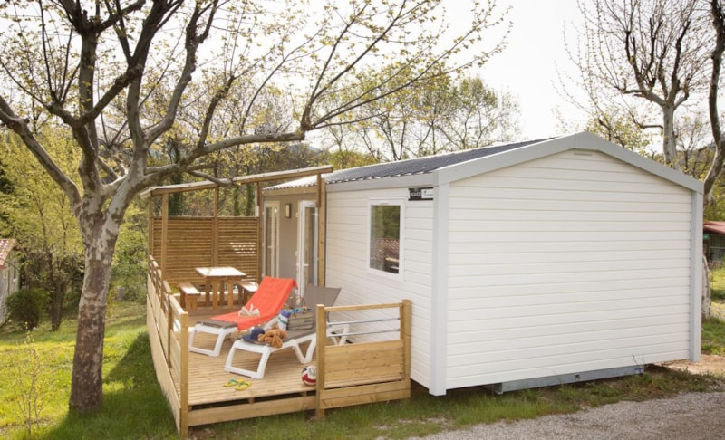 Mobil-Home Privilège OR 34m² 3ch. - 6pers. - CLIM - Ardèche Camping