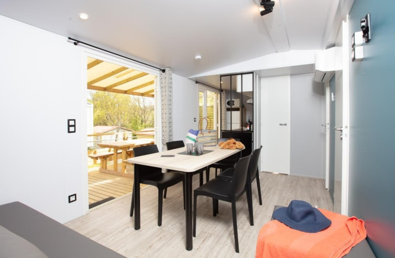 Mobil-Home Privilège OR 34m² 3ch. - 6pers. - CLIM (5/11)